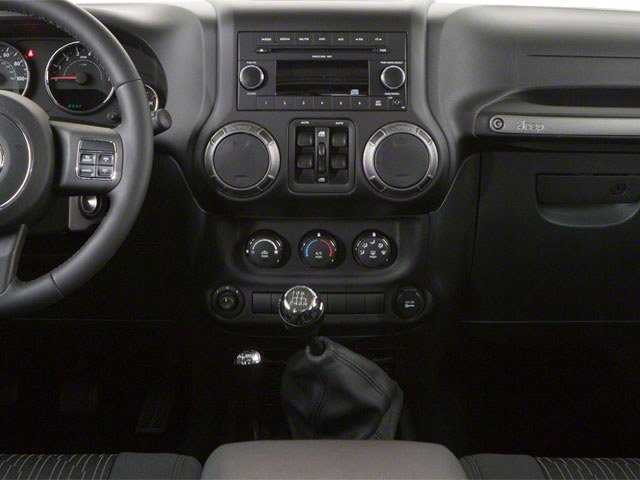 2010 Jeep Wrangler Unlimited Prices and Values Utility 4D Unlimited Sport 4WD center console