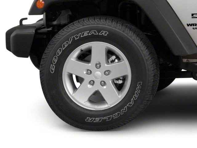 2010 Jeep Wrangler Unlimited Prices and Values Utility 4D Unlimited Sport 4WD wheel