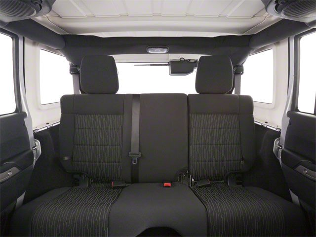 2010 Jeep Wrangler Unlimited Prices and Values Utility 4D Unlimited Sport 4WD backseat interior