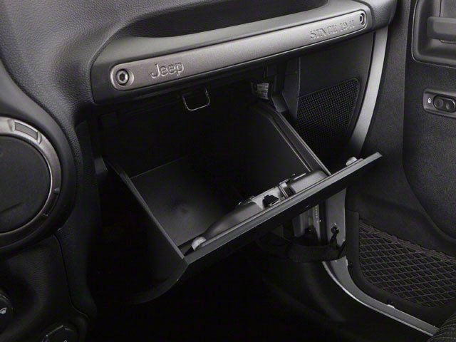 2010 Jeep Wrangler Unlimited Prices and Values Utility 4D Unlimited Sport 4WD glove box
