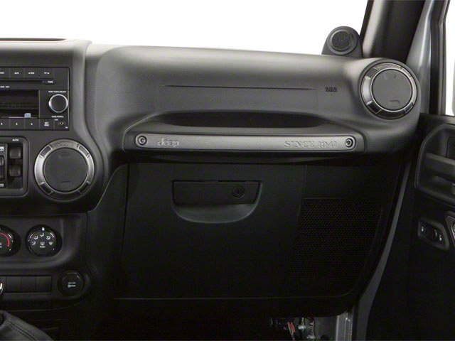 2010 Jeep Wrangler Unlimited Prices and Values Utility 4D Unlimited Sport 4WD passenger's dashboard