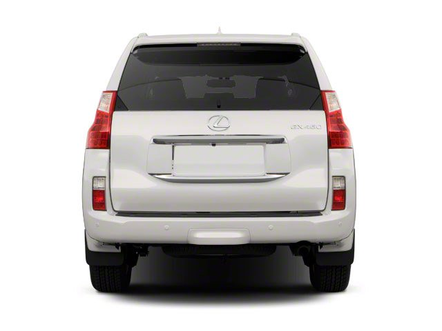2010 Lexus GX 460 Prices and Values Utility 4D 4WD rear view