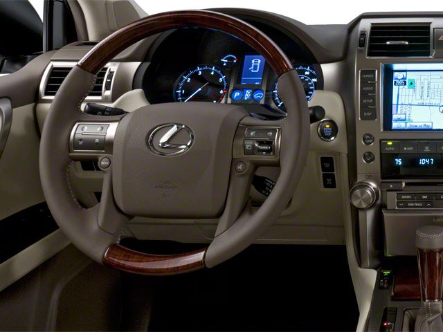 2010 Lexus GX 460 Prices and Values Utility 4D 4WD driver's dashboard
