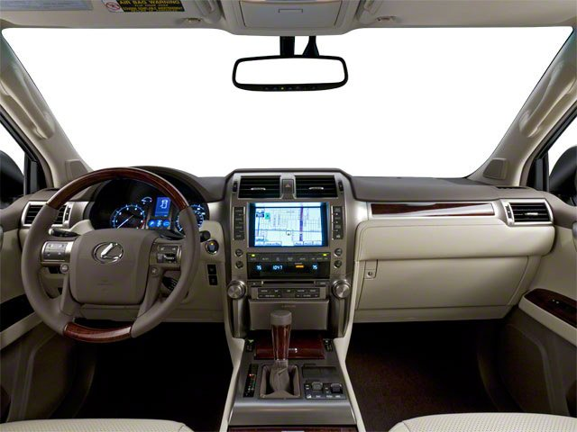 2010 Lexus GX 460 Prices and Values Utility 4D 4WD full dashboard
