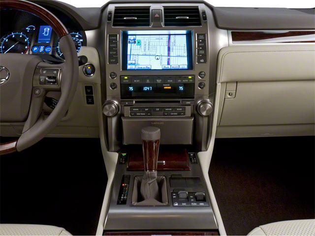 2010 Lexus GX 460 Prices and Values Utility 4D 4WD center console