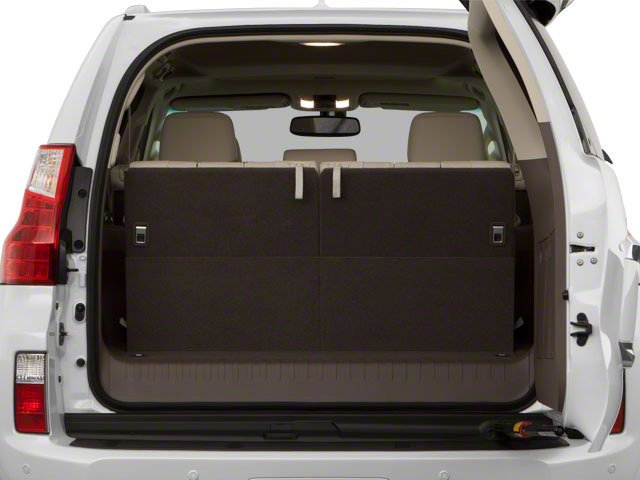 2010 Lexus GX 460 Prices and Values Utility 4D 4WD open trunk