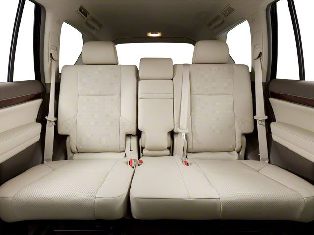 2010 Lexus GX 460 Prices and Values Utility 4D 4WD backseat interior