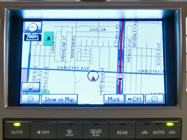 2010 Lexus GX 460 Prices and Values Utility 4D 4WD navigation system