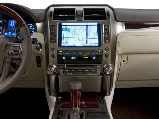 2010 Lexus GX 460 Prices and Values Utility 4D 4WD center dashboard