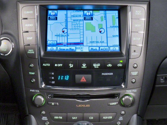 2010 Lexus IS 250 Pictures IS 250 Sedan 4D IS250 photos stereo system
