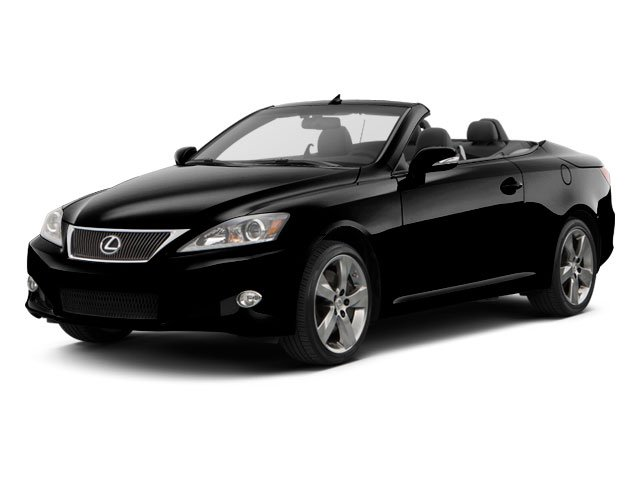 2010 Lexus IS 250C Prices and Values Convertible 2D IS250 side front view