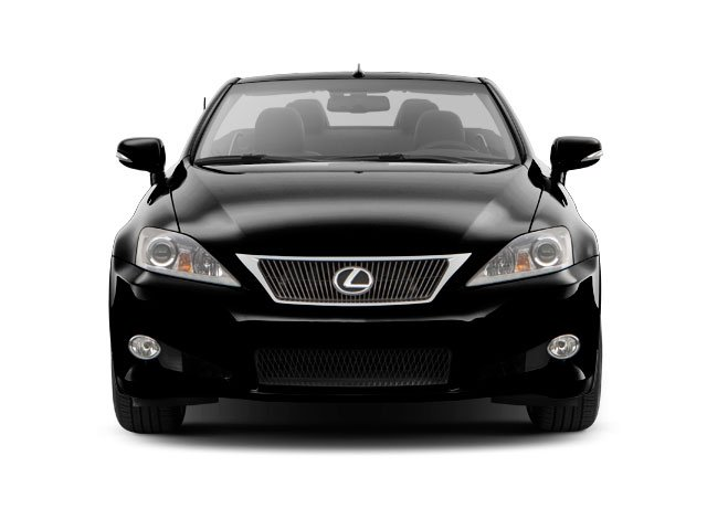 2010 Lexus IS 250C Prices and Values Convertible 2D IS250 front view