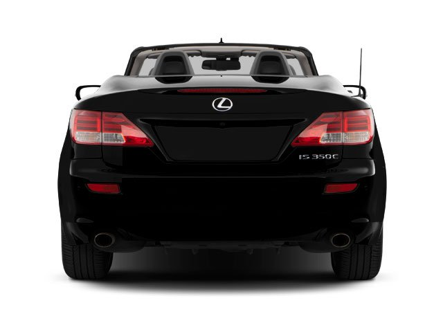 2010 Lexus IS 250C Prices and Values Convertible 2D IS250 rear view
