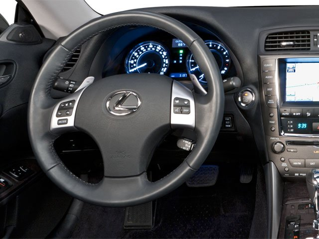 2010 Lexus IS 250C Prices and Values Convertible 2D IS250 driver's dashboard