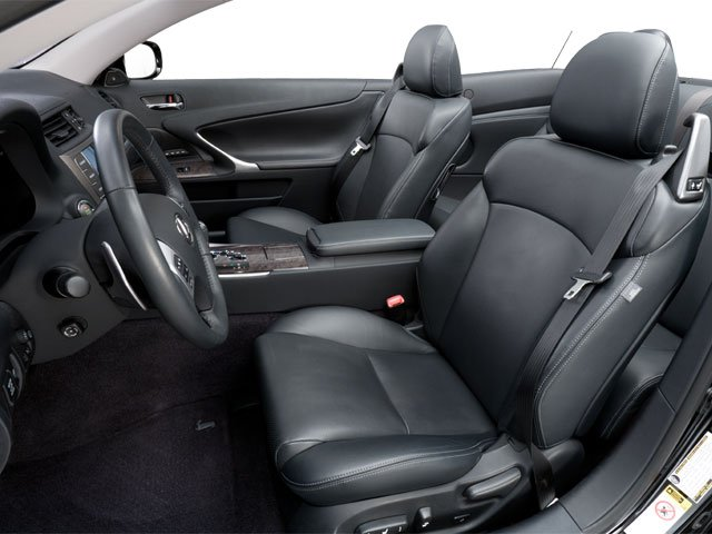 2010 Lexus IS 250C Prices and Values Convertible 2D IS250 front seat interior