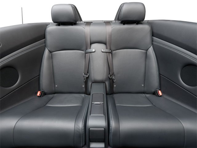 2010 Lexus IS 250C Prices and Values Convertible 2D IS250 backseat interior