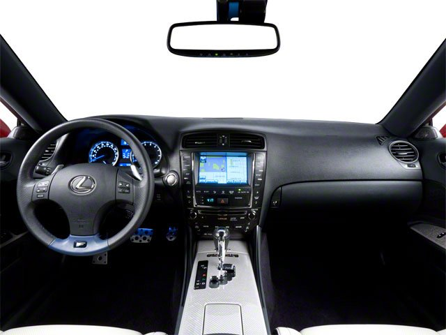 2010 Lexus IS F Prices and Values Sedan 4D IS-F full dashboard