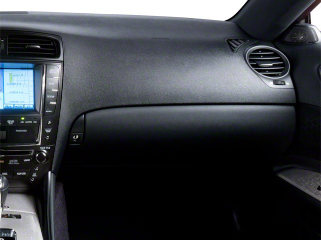 2010 Lexus IS F Prices and Values Sedan 4D IS-F passenger's dashboard