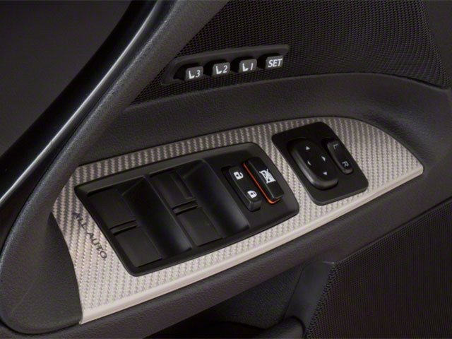 2010 Lexus IS F Prices and Values Sedan 4D IS-F driver's side interior controls