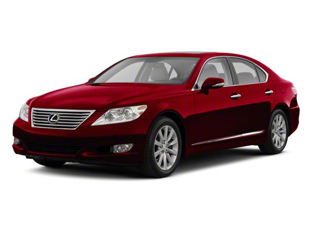 2010 Lexus LS 460 Prices and Values Sedan 4D LS460L AWD side front view