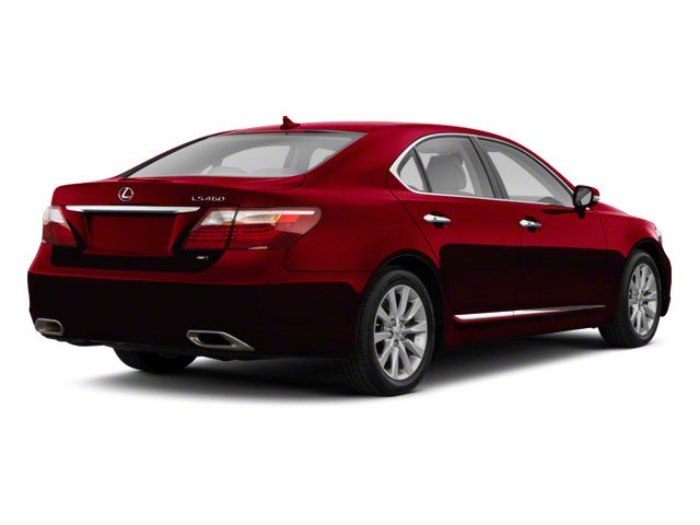 2010 Lexus LS 460 Prices and Values Sedan 4D LS460L AWD side rear view