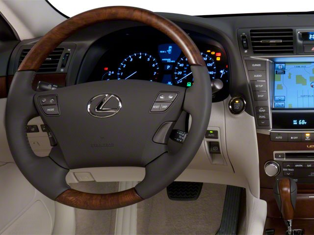 2010 Lexus LS 460 Prices and Values Sedan 4D LS460L AWD driver's dashboard