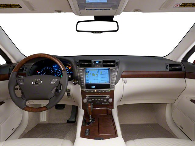 2010 Lexus LS 460 Prices and Values Sedan 4D LS460L AWD full dashboard