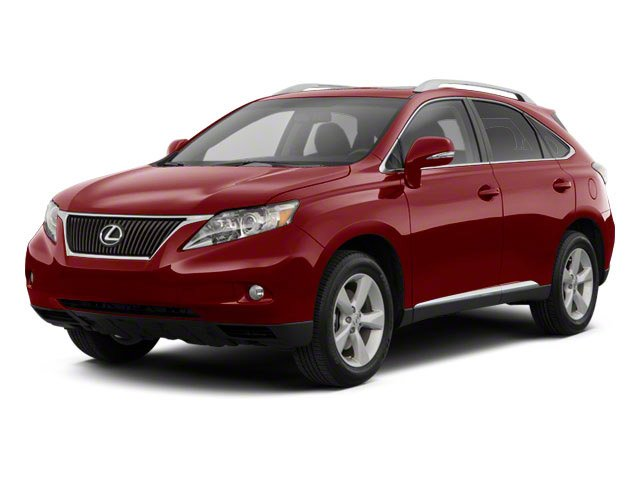 2010 Lexus RX 450h Prices and Values Utility 4D 2WD side front view