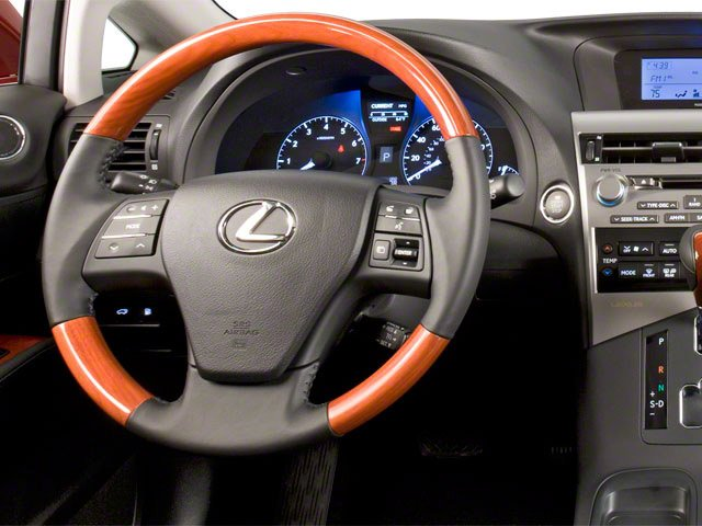 2010 Lexus RX 450h Prices and Values Utility 4D 2WD driver's dashboard