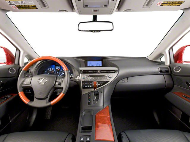 2010 Lexus RX 450h Prices and Values Utility 4D 2WD full dashboard
