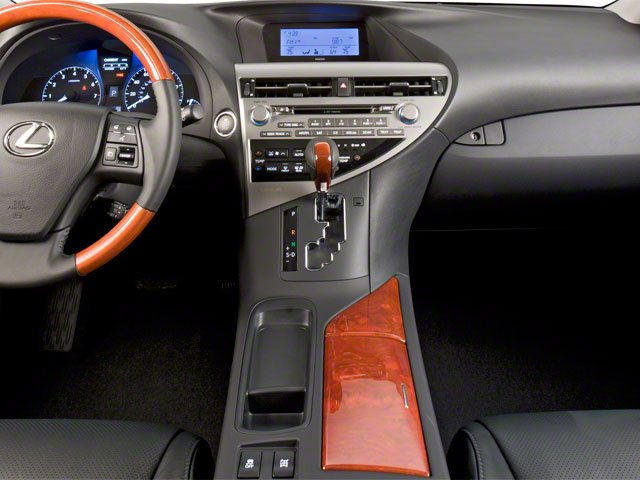2010 Lexus RX 450h Prices and Values Utility 4D 2WD center console