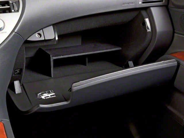 2010 Lexus RX 450h Prices and Values Utility 4D 2WD glove box