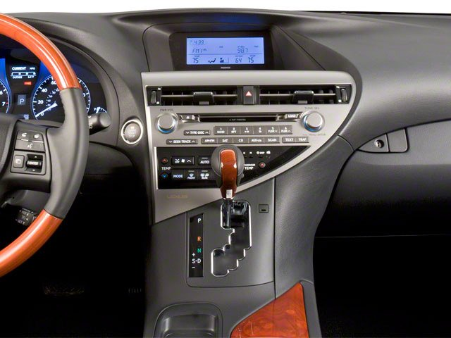 2010 Lexus RX 450h Prices and Values Utility 4D 2WD center dashboard