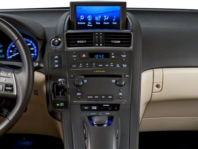 2010 Lexus HS 250h Prices and Values Sedan 4D HS250h stereo system