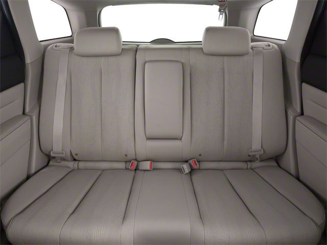 2010 Mazda CX-7 Prices and Values Wagon 4D I 2WD backseat interior