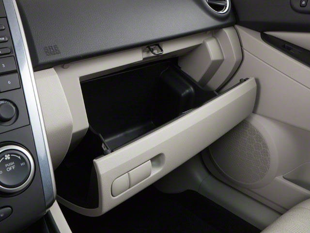 2010 Mazda CX-7 Prices and Values Wagon 4D S AWD glove box
