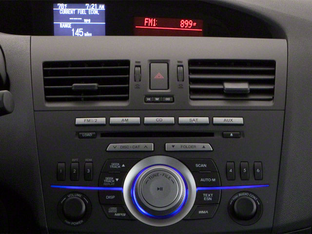 2010 Mazda Mazda3 Prices and Values Wagon 5D s stereo system