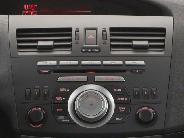 2010 Mazda Mazda3 Prices and Values Sedan 4D i stereo system