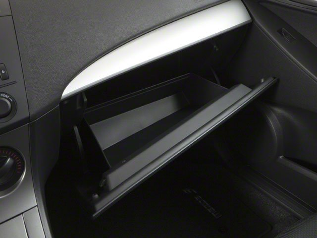 2010 Mazda Mazda3 Pictures Mazda3 Sedan 4D s photos glove box
