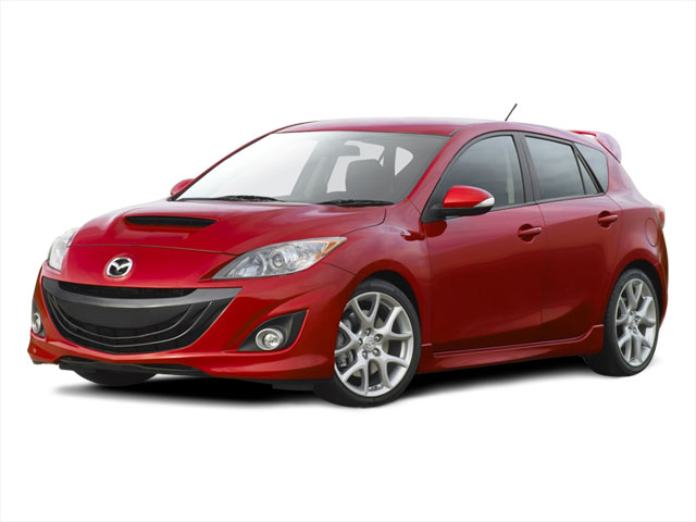 2010 Mazda Mazda3 Prices and Values Wagon 5D SPEED side front view