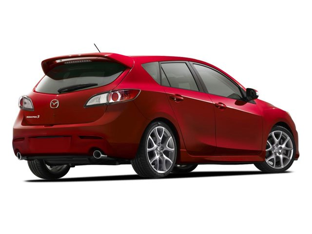 2010 Mazda Mazda3 Prices and Values Wagon 5D SPEED side rear view