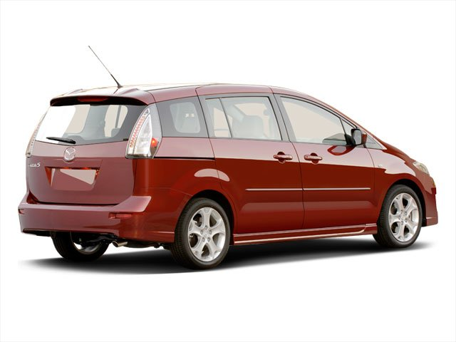 2010 Mazda Mazda5 Prices and Values Wagon 5D GT side rear view