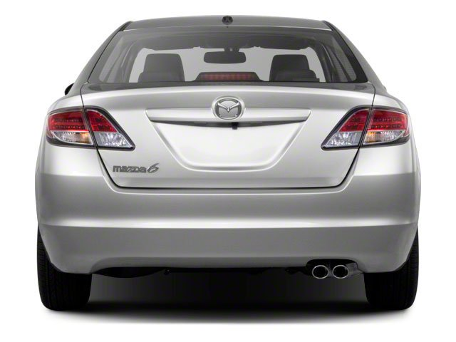 2010 Mazda Mazda6 Prices and Values Sedan 4D i rear view
