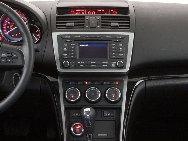 2010 Mazda Mazda6 Prices and Values Sedan 4D i SV center console