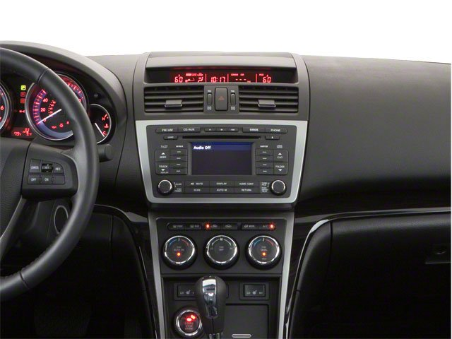 2010 Mazda Mazda6 Prices and Values Sedan 4D i SV center dashboard