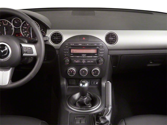 2010 Mazda MX-5 Miata Prices and Values Convertible 2D Touring center dashboard
