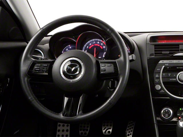 2010 Mazda RX-8 Prices and Values Coupe 2D GT (6 Spd) driver's dashboard