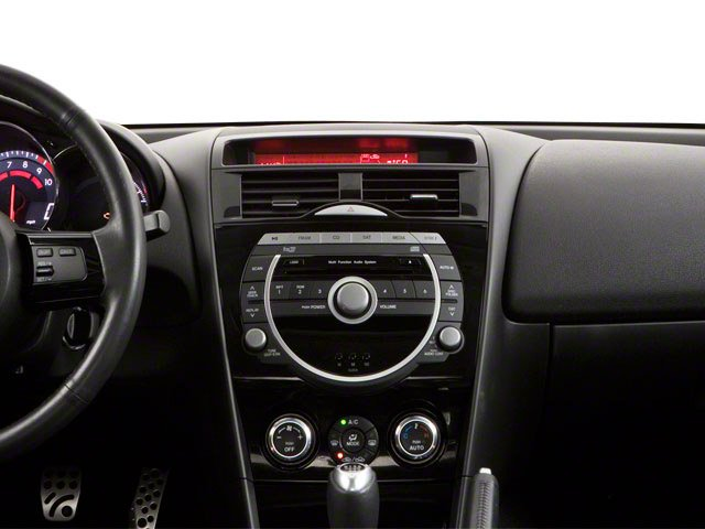 2010 Mazda RX-8 Prices and Values Coupe 2D GT (6 Spd) center dashboard