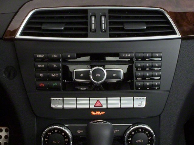 2010 Mercedes-Benz C-Class Prices and Values Sport Sedan 4D C300 stereo system