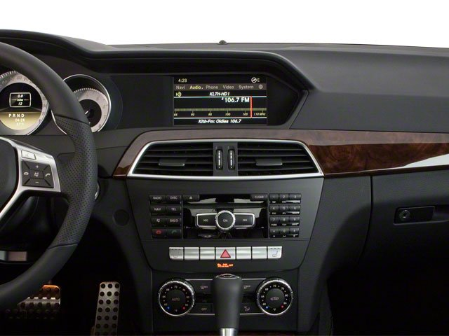 2010 Mercedes-Benz C-Class Prices and Values Sport Sedan 4D C300 center dashboard